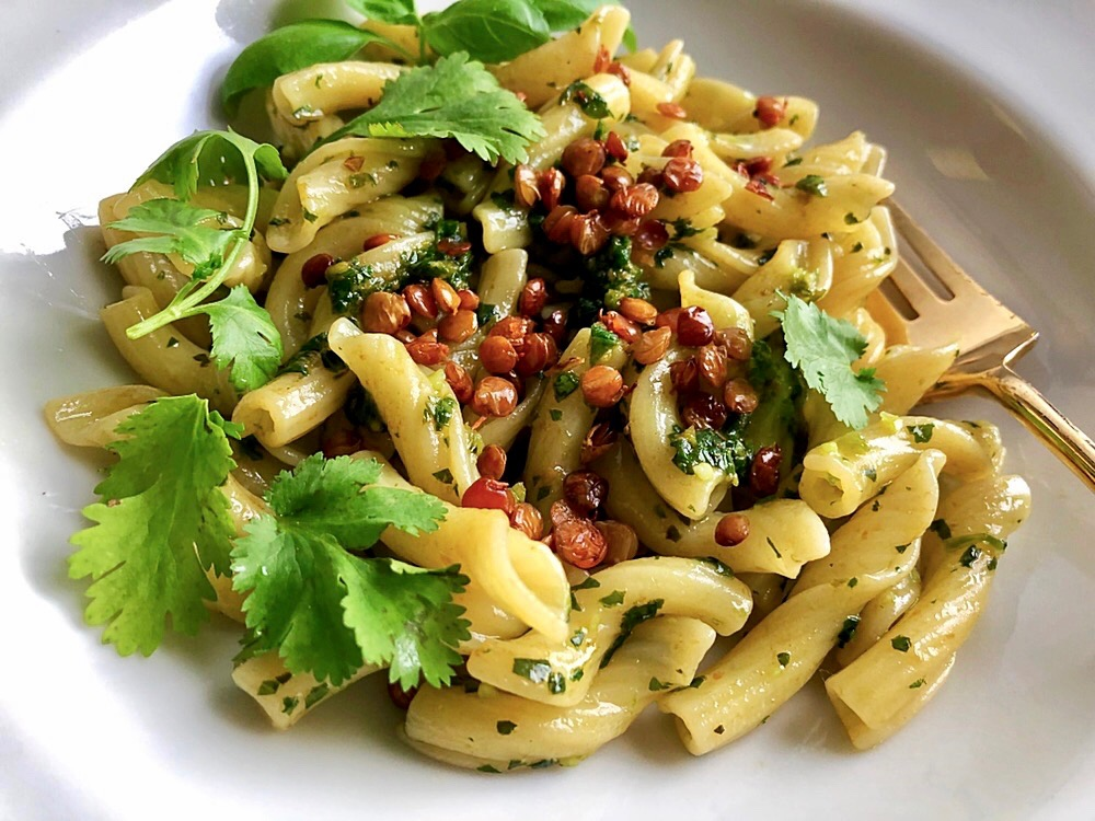 Thai Pesto Pasta with Pro-Chi