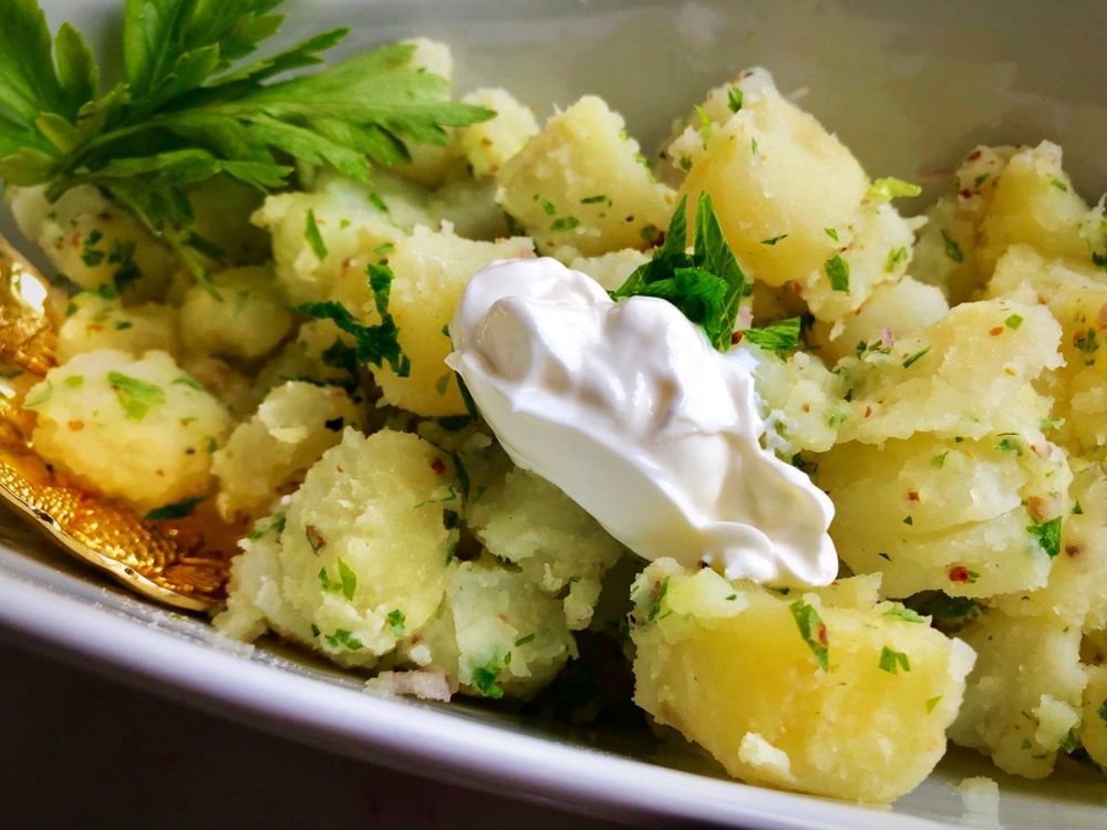 Light potato salad recipe