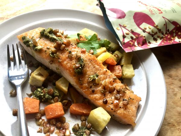 Salmon Recipe with Pro-Chi delicious healthy snacking and cooking